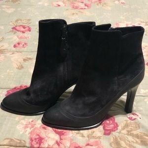 RAG & BONE‼️ GORGEOUS BLACK suede ankle boots